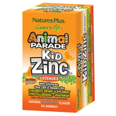 Animal Parade Kid Zinc