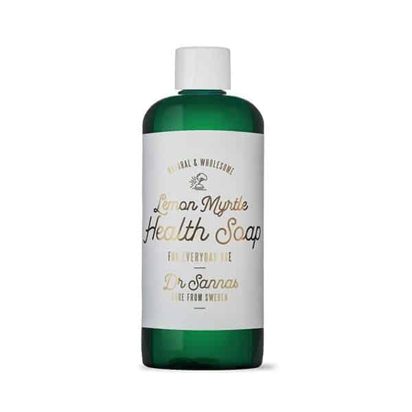 Dr Sannas Hälso Såpa / Health Soap Provflaska Lemon Myrtle